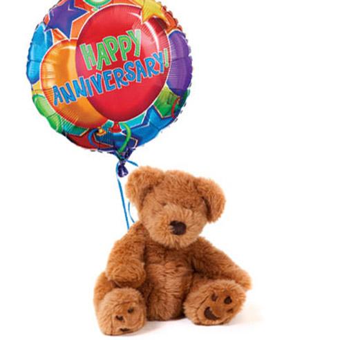 Anniversary Bear & Balloon