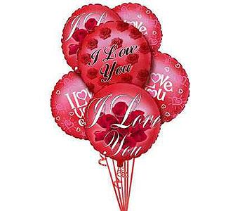 I Love You Balloons