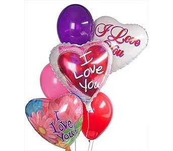 Love You BalloonsSame Day OK