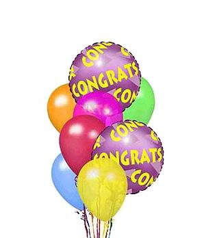 Congratulation Balloons