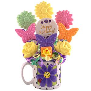 Mug of Daisies Birthday