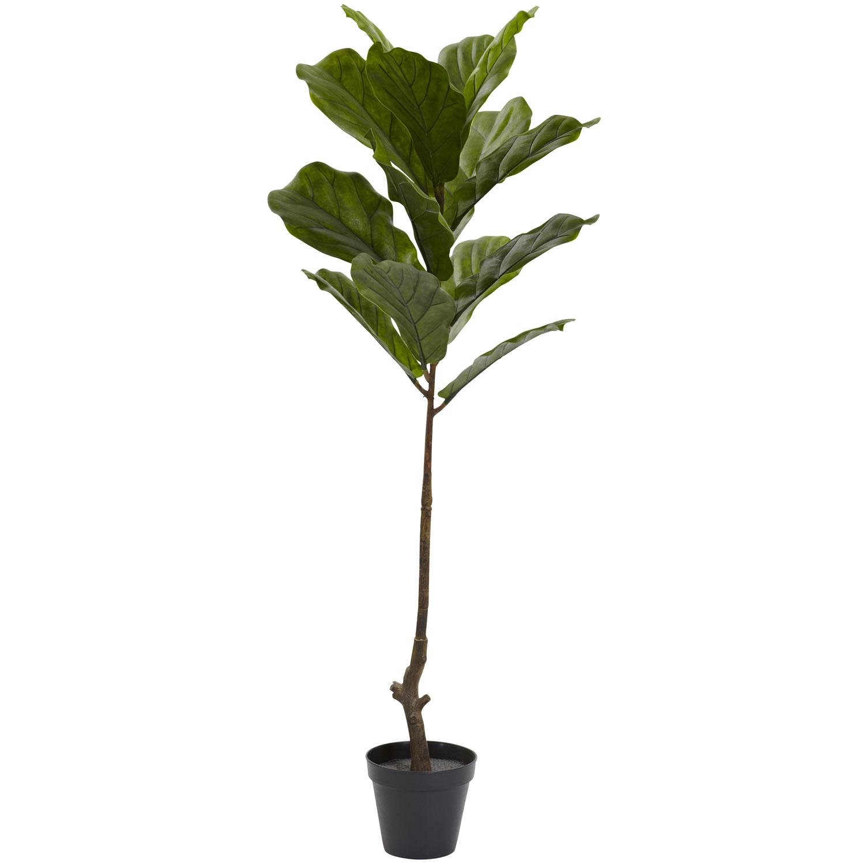 4' Fiddle Leaf Tree UV Resistant (Indoor/Outdoor)
